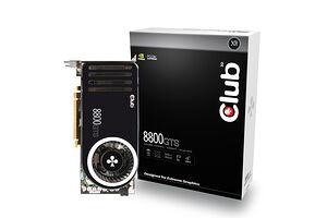 Club 3D GeForce 8800 GTS 320MB Heatpipe (320 MB / PCIe)