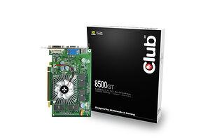 Club 3D GeForce 8500 GT (256MB / PCIe)
