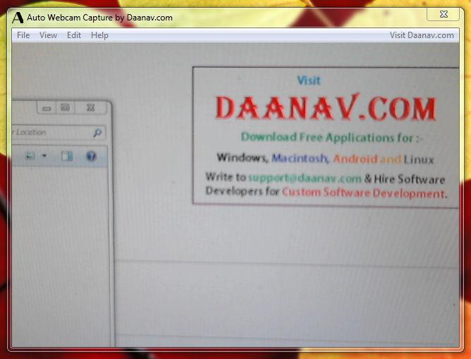 download auto webcam capture v1 0 freeware afterdawn software downloads. Black Bedroom Furniture Sets. Home Design Ideas
