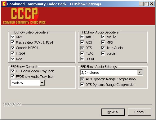 Combined Community Codec Pack Cccp - фото 9