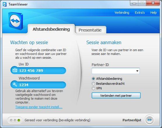 TeamViewer v6.0.10344screenshot 1 / 2
