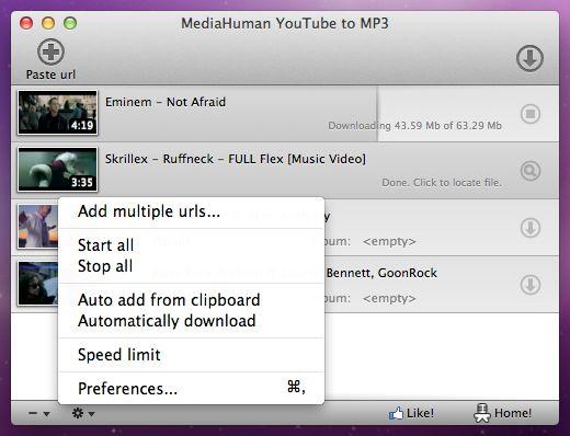 descargar youtube mediahuman mp3 converter