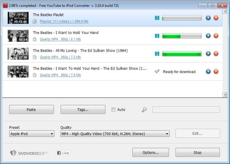 Download Free YouTube to iPod Converter v3.11.61.805 - AfterDawn: Software downloads