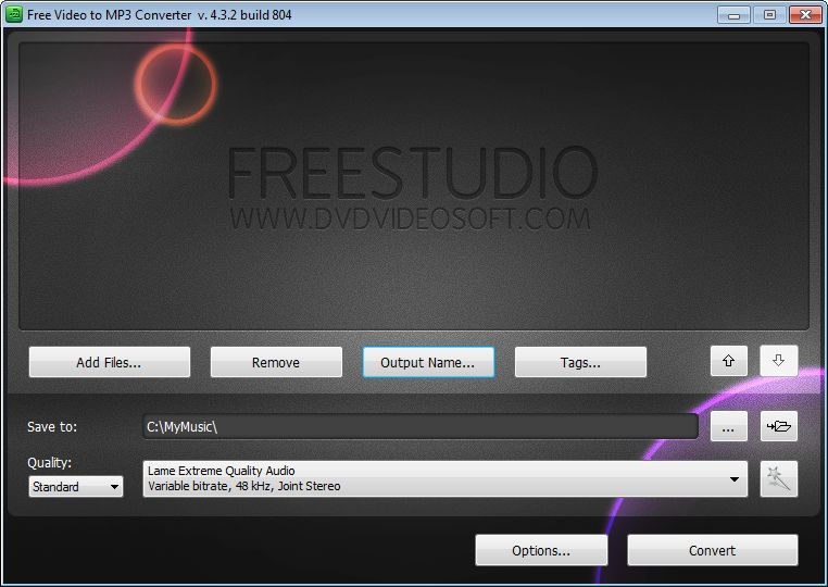 تحميل برنامج محول الصيغة المجاني 2015 Free Video to MP3 Converter