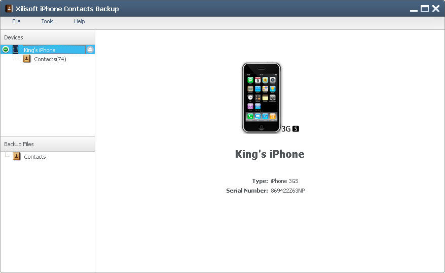 Download Xilisoft iPhone Contacts Backup v1.2.14.20140106 ...