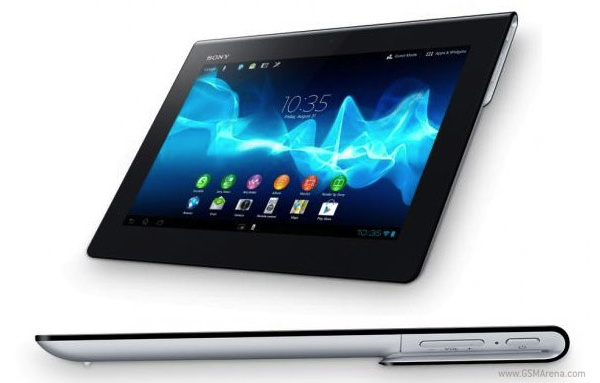 Sonylta Xperia Tablet S Androidilla ja kapasitiivisella nppimistll