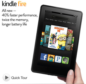 Amazon introduces new Kindle Fire for $159
