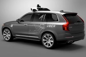 Uber aloittaa kyydit kuskittomilla autoilla