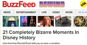 Disney tried to buy BuzzFeed, but the Web co. wanted $1 billion