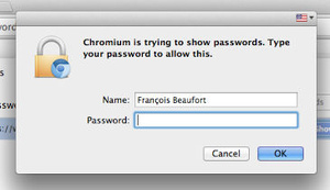 Google to lock access to saved passwords in Chrome?
