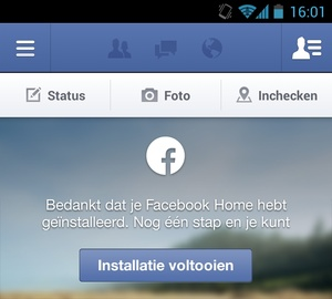 Facebook Home voor niet-ondersteunde apparaten en niet-Amerikanen