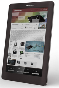 Hanvon unveils e-reader with color E-Ink display