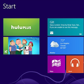 Windows 8 getting dedicated Hulu Plus app