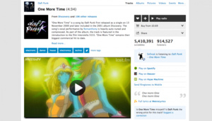 Last.fm adds 90,000 music videos