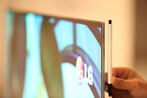 LG to unveil 55-inch OLED TV at CES