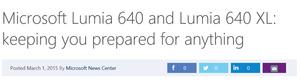 Arvostelu: Lumia 640 - Hyvin optimoitu Windows Phone hintatietoisille