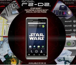 Motorola Droid R2-D2 goes on sale Wednesday