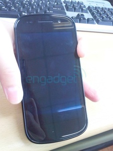Pictures leak of the upcoming Nexus S smartphone