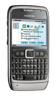 Testissä Nokia E71