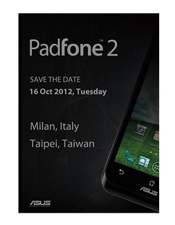 Asus to launch Padfone 2 
