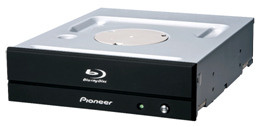 Pioneer shows off Blu-ray writers with XL support