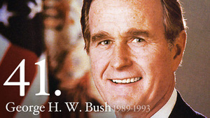 Former President Bush has e-mail hacked, photographs stolen