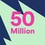 Spotifylle 50 miljoonan rajapyykki, Apple jäänyt kauas taakse