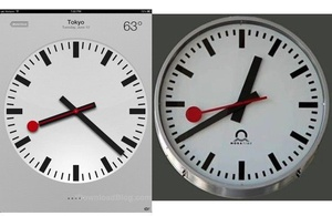 Report: Apple to pay Swiss rail $21 million for using clock design