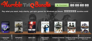 Humble THQ Bundle offering 6 classic games for $1 donation