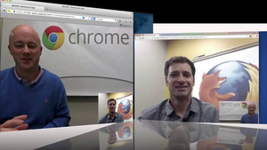 VIDEO: Chrome & Firefox can now video chat