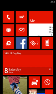 De eerste screenshots van de Windows Phone Blue lek