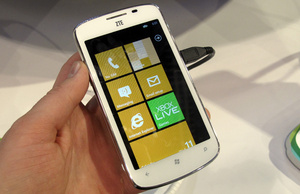 ZTE pays �20 to license Windows Phone