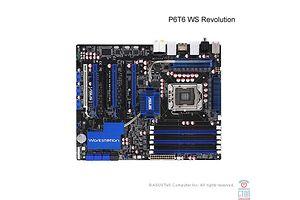 Asus P6T6 WS Revolution